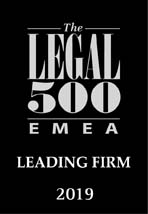 Legal 500 Directory for 2019