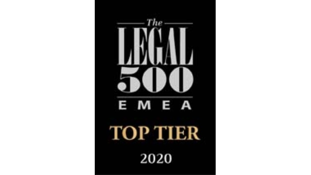 Legal500 Directory 2020